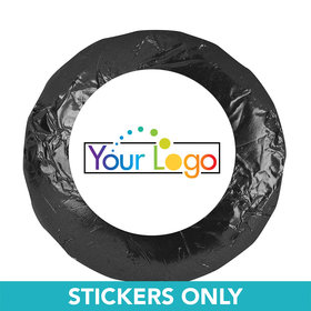 "Business Promotional 1.25"" Sticker Your Logo (48 Stickers)"