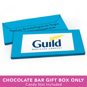 Deluxe Personalized Business Add Your Logo Candy Bar Favor Box