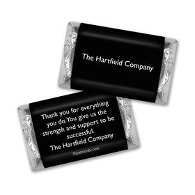 Business Promotional Personalized Hershey's Miniatures Business Card