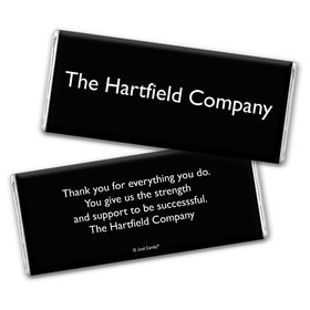 Business Promotional Personalized Chocolate Bar Wrappers Business Card