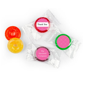 Business Promotional Personalized Life Savers 5 Flavor Hard Candy Criss Cross