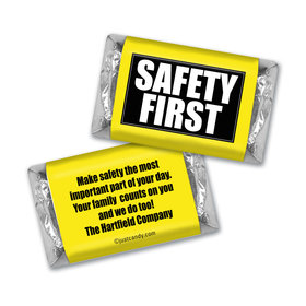 Personalized Business Promotional Safety First Hershey's Miniatures