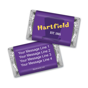 Personalized Business Promotional Willy Wonka Theme Hershey's Miniatures
