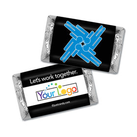 Personalized Business Team Teamwork Puzzle Hershey's Miniature Wrappers Only