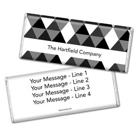 Business Promotional Personalized Chocolate Bar Triangles