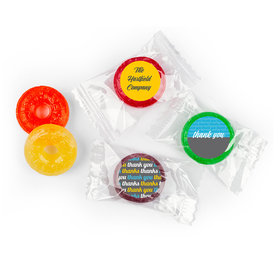 Personalized LifeSavers 5 Flavor Hard Candy - Brilliance Thank You Stickers