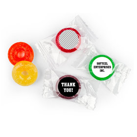 Thank You Chocolates - Tribute Stickers - LifeSavers 5 Flavor Hard Candy