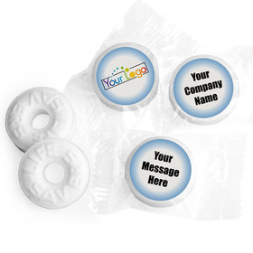 Personalized Life Savers - Ascend Business Favor Stickers