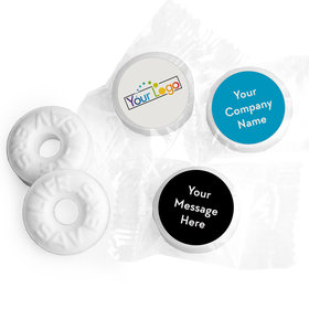 Personalized Life Savers - Superior Business Favor Stickers