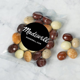 Personalized Business Add Your Logo Candy Bags with Premium Gourmet New York Espresso Beans