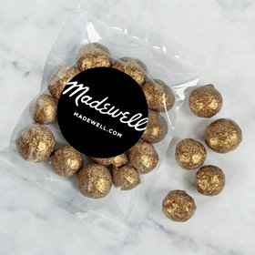 Personalized Business Add Your Logo Candy Bags with Premium Gourmet Sparkling Prosecco Cordials