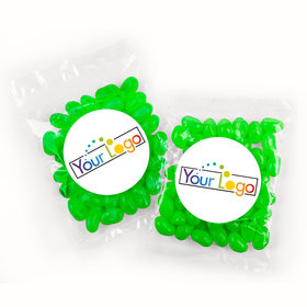 Personalized Business Add Your Logo Candy Bags with Jelly Beans