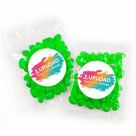 Personalized Business Add Your Logo Candy Bags with Jelly Belly Jelly Beans