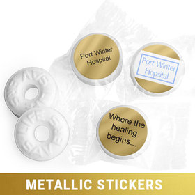 Personalized Metallic Business Add Your Logo Life Savers Mints (300 Pack)