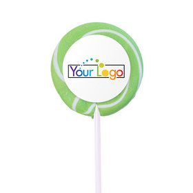 Personalized Add Your Logo Small Swirly Pop (24 Pack)