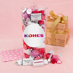 Personalized Valentine's Day Add Your Logo Canister 2 lb