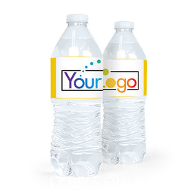 Personalized Business Add Your Logo Water Bottle Sticker Labels (5 Labels)