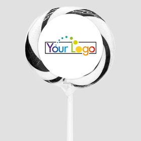 "Personalized Add Your Logo 3"" Whirly Pop (24 Pack)"