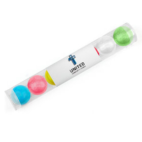 Personalized Add Your Logo Easter Gumball Tube