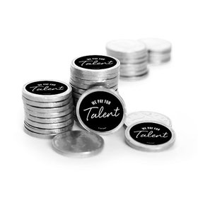 Business We Pay for Talent Chocolate Coins (84 Pack)