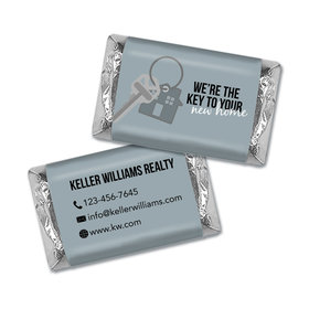 Personalized Business Promotional New Home Keys Hershey's Miniatures