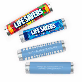 Personalized Dental Lifeavers Rolls (20 Rolls)