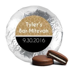 Personalized Bar & Bat Mitzvah Milk Chocolate Covered Oreo Cookies (24 Pack)