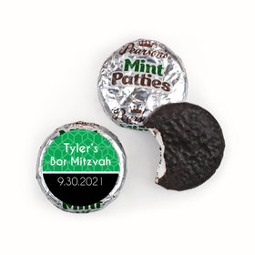 Personalized Bar & Bat Mitzvah Pearson's Mint Patties