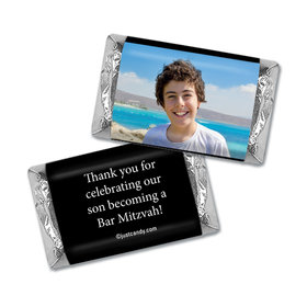 Personalized Bar Mitzvah Mini Wrappers