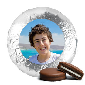 Bar Mitzvah Cute Pic Milk Chocolate Covered Oreo Cookies (24 Pack)