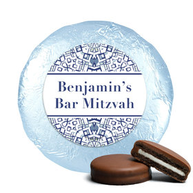 Personalized Bar Mitzvah Judaic Joy Chocolate Covered Oreos Cookies