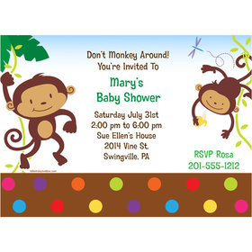 Fisher Price Baby Personalized Invitation