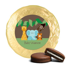 Baby Shower Chocolate Covered Oreos Jungle Safari Animals (24 Pack)