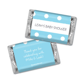 Baby Shower Personalized Hershey's Miniatures Wrappers Polka Dot