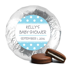 Baby Shower Chocolate Covered Oreos Polka Dot
