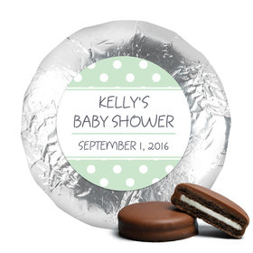 Baby Shower Chocolate Covered Oreos Polka Dot (24 Pack)