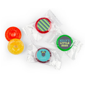 Baby Shower Personalized LifeSavers 5 Flavor Hard Candy Little Man Bow Tie (300 Pack)