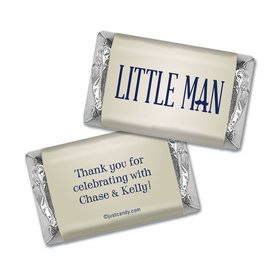 Baby Shower Personalized Hershey's Miniatures Wrappers Little Man