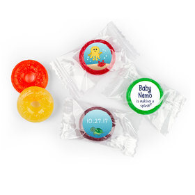 Baby Shower Personalized LifeSavers 5 Flavor Hard Candy Ocean Octopus Deep Sea Bubbles (300 Pack)