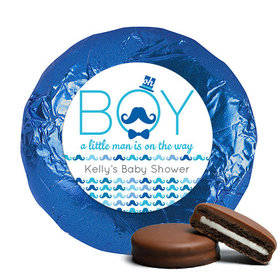 Baby Shower Chocolate Covered Oreos Mustache Bash (24 Pack)