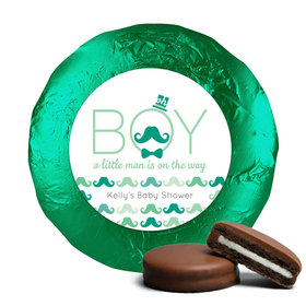 Baby Shower Chocolate Covered Oreos Mustache Bash