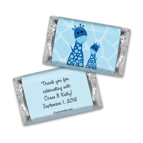 Baby Shower Personalized Hershey's Miniatures Giraffe