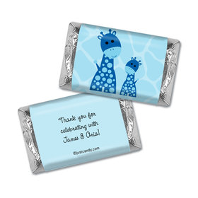 Baby Shower Personalized Hershey's Miniatures Wrappers Giraffe