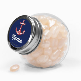Nautical Personalized Mini Side Jar 24 Pack