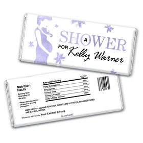 Baby Shower Personalized Chocolate Bar Wrappers Expecting