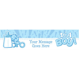 Personalized Twinkle Boy Banner