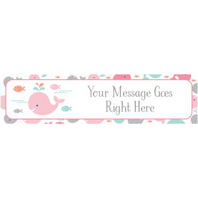 Personalized Little Spout Pink Banner