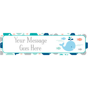 Personalized Little Spout Blue Banner