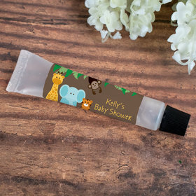 Hand Sanitizer Tube Personalized Baby Shower Jungle Buddies 0.5 fl. oz.