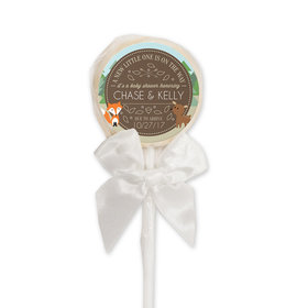 Baby Shower Personalized Lollipop Forest Animals (24 Pack)